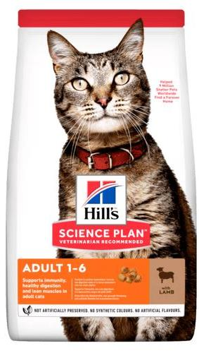 Hill's SP Feline Adult Optimal Care Lamb для кошек с ягнёнком