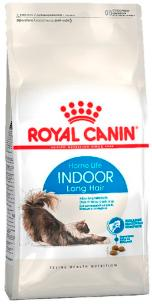 Royal Canin Indoor Long Hair (для домашних длинношерстных кошек)