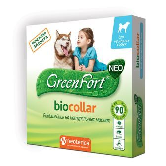 GreenFort BIOCOLLAR Ошейник репеллентный