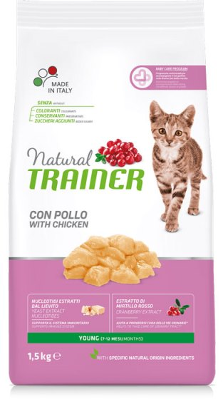Trainer Natural Young Cat (для котят от 7 до 12 мес)