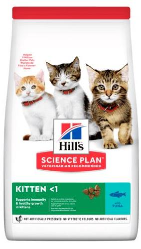 Hill's SP Kitten Healthy Development Tuna для котят с тунцом
