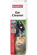 Beaphar Ear Cleaner Лосьон для ухода за ушами собак и кошек, антисептический, 50 мл