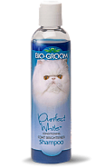 BIO-GROOM Purrfect White Shampoo, 237 мл