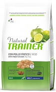 Trainer Natural Maxi with fresh chicken and rice (для собак крупных пород с курицей), 3 кг