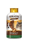 Rolf Club Keratin+ Perfect Шампунь для всех типов шерсти кошек и собак, 400 мл